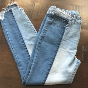 Other - Girls Size 16 High Rise Skinny Jeans Two Tone